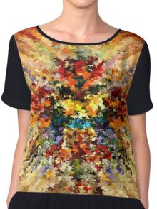 modern composition 10 by rafi talby Chiffon Top