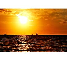 Dreamlight at the Baltic Sea Photographic Print