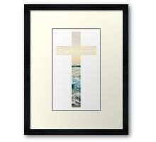 Christian Cross Framed Print