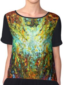 modern composition 16 by rafi talby Chiffon Top