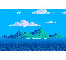 Pixel Island Photographic Print