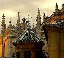 Granada Church spires by Debra Kurs
