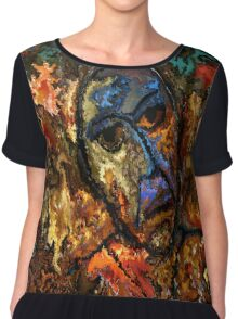 modern composition 26 by rafi talby Chiffon Top