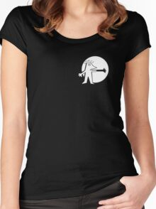 Phantom Limb Productions Logo Women's Fitted Scoop T-Shirt