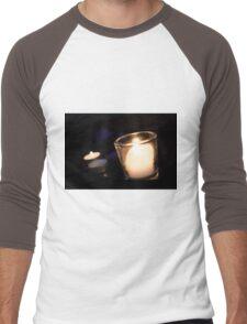Candle light Men's Baseball ¾ T-Shirt