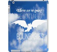 Boundaries iPad Case/Skin