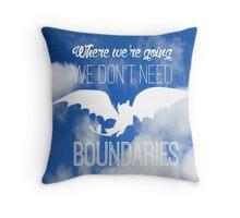 Boundaries Throw Pillow