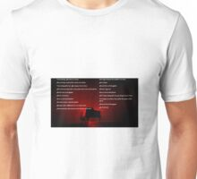 Muse Neutron Star Collision Lyrics Unisex T-Shirt