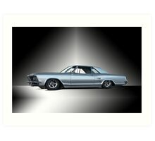 1963 Buick Riviera 'Custom'  Art Print