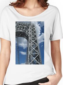 George Washington Bridge, NYC 6/30/16 Women's Relaxed Fit T-Shirt