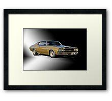 1970 Chevrolet Chevelle SS396 Framed Print