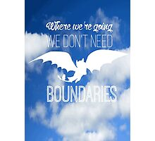 Boundaries Photographic Print