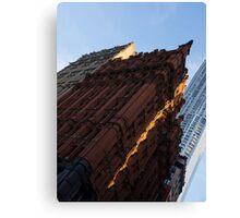 A Slice of Sunshine - Manhattan's Potter Building at Sunrise Canvas Print
