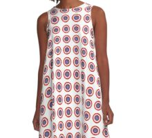 Cap's Shield A-Line Dress