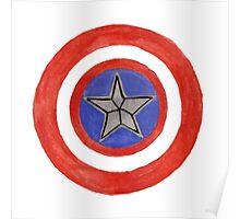 Cap's Shield Poster