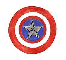 Cap's Shield Photographic Print