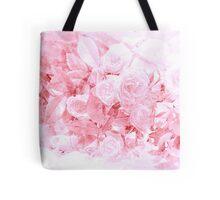 Bright Pink Watercolor Floral Tote Bag