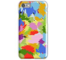 colorful chaotic iPhone Case/Skin
