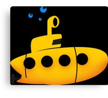 u-boot - Submarine Canvas Print