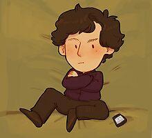 Sherlock Pillow by inchells