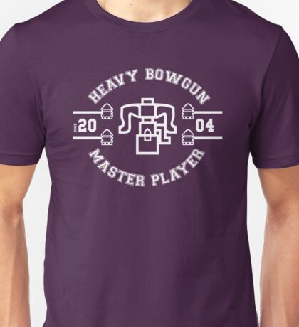 Heavy Bowgun - Master Player Unisex T-Shirt