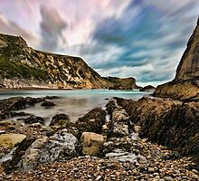 Man 'O' War Bay, Dorset, England by GrahamWhite