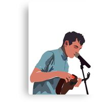 Tyler Joseph No Writing Canvas Print