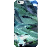 Ice, clouds, mountains and me iPhone Case/Skin