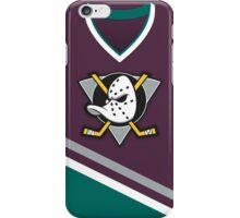 Mighty Ducks of Anaheim Away Jersey iPhone Case/Skin