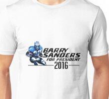 Barry Sanders for President 2016 (Alternate) Unisex T-Shirt