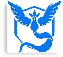 Team Mystic Symbol (Large + No Words) Canvas Print