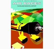 """AIR RACES"" Cleveland 1932 International Advertisement Unisex T-Shirt"