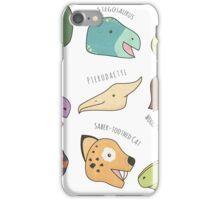 Dinosaurs (& Friends!) iPhone Case/Skin
