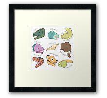 Dinosaurs (& Friends!) Framed Print