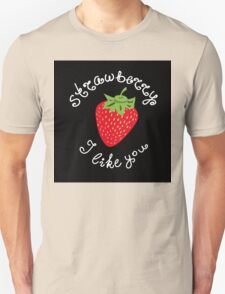 Red strawberry Unisex T-Shirt