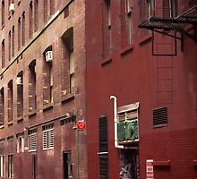New York Alley by Jasper Smits