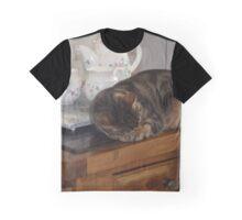 Kit-Tea Kat Graphic T-Shirt