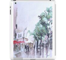 Main street, Gibraltar iPad Case/Skin