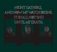 Nightwatcher Game of Thrones by Bonvi