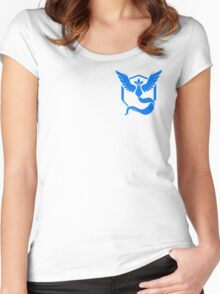 Team Mystic Symbol (Small + No Words) Women's Fitted Scoop T-Shirt