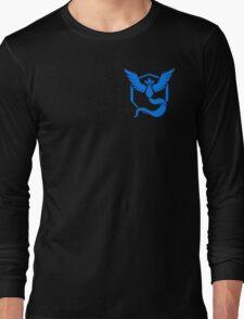 Team Mystic Symbol (Small + No Words) Long Sleeve T-Shirt