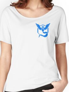 Team Mystic Symbol (Small + No Words) Women's Relaxed Fit T-Shirt