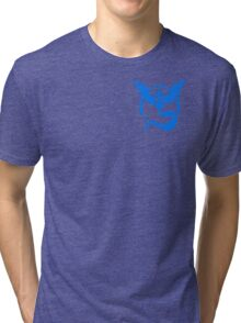 Team Mystic Symbol (Small + No Words) Tri-blend T-Shirt