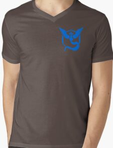 Team Mystic Symbol (Small + No Words) Mens V-Neck T-Shirt