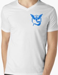 Team Mystic Symbol (Small + No Words) Mens V-Neck T-Shirt