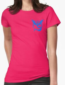 Team Mystic Symbol (Small + No Words) Womens Fitted T-Shirt