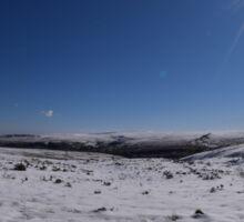 Winter In Yorkshire Sticker