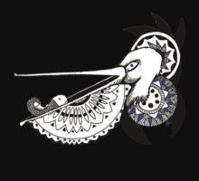 Mandala Pelican One Piece - Long Sleeve