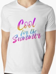 WE'RE COOL FOR THE SUMMER Mens V-Neck T-Shirt