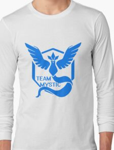 Team Mystic Symbol (Large) Long Sleeve T-Shirt